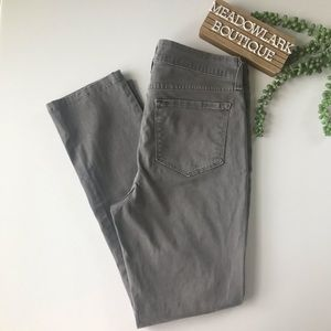 NYDJ Gray Skinny Tummy Tuck Technology Jeans